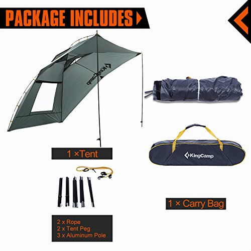 newest 889db 0a1d0 KingCamp Awning Sun Shelter Auto Canopy Camper Trailer Tent ...