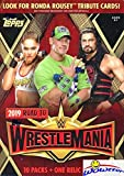2019 Topps WWE Road to Wrestlemania EXCLUSIVE Factory Sealed Retail Box with RELIC Card! Look for Cards & Autographs of WWE Superstars including Jon Cena, Roman Reigns, Rondo Rousey & More! WOWZZER!