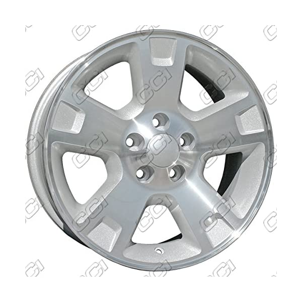 17-Machined-With-Silver-Pockets-New-OEM-Wheels-for-04-04-FORD-HERITAGE