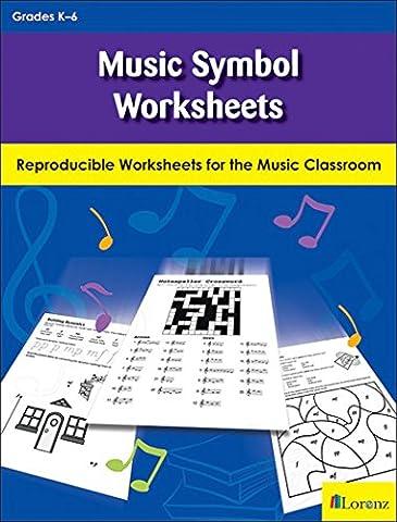 Music Symbol Worksheets: Notes, Dynamics, and More (Amazon Digital Sheet Music)