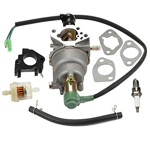Panari Carburetor + Insulator for Titan TG6500 TG6500ES TG7500M TG8000 TG8500 TG8500M TG8500RC TG9000ES.33 Industrial Genereator