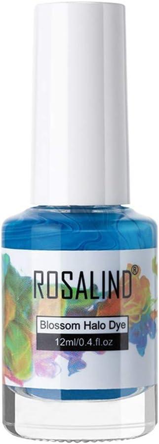 Broadwage - Esmalte de uñas de 6 colores, 12 ml, esmalte de ...