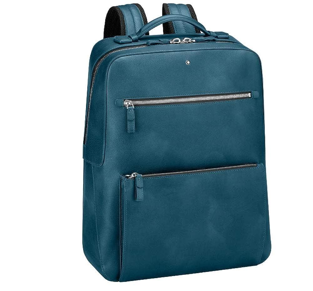 (モンブラン) MONTBLANC バッグ リュック 傑作Sfumatoバックパック (並行輸入品) One Size Petrol Blue B07H6WXCVR