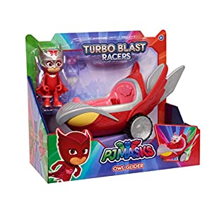 PJ Masks Turbo Blast Vehicles – Owl Glider & Owlette Figure