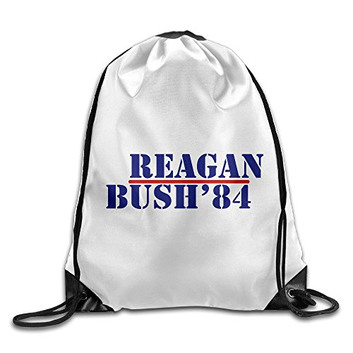 Chocy Bush Reagan 84 Gym White Backpack White (Reagan Bush 84 Poster compare prices)