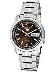 Seiko Mens SNKK79 Automatic Stainless Steel Watch
