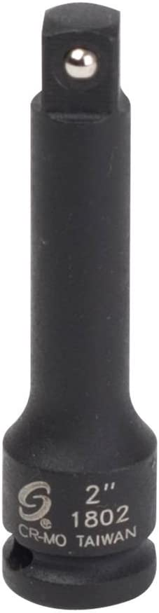 Sunex 1806 SOCKET EXTENSION IMPACT 6IN DRIVE 1//4IN