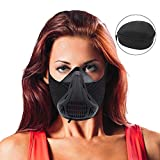 Training Mask 6 Breathing Levels - Workout Elevation Mask for Air Resistance Training - Altitude Training Mask for Air Resistance, Fitness, Running, Endurance and HIIT Training