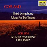 Copland: Third Symphony & Music for Theatre by Levi/ASO (2002-05-03)