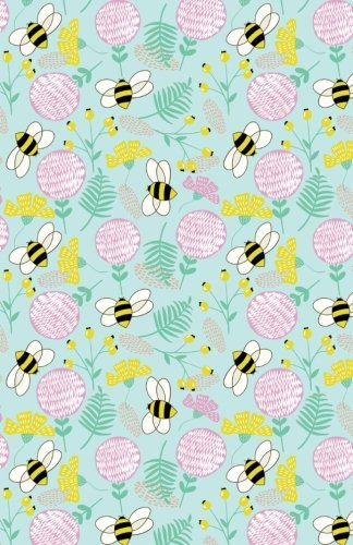 Download Bullet Journal Bees and Clover Pattern - Green: Graph Design - 162 Numbered Pages With 150 Graph Style Grid Pages, 6 Index Pages and 2 Key Pages in ... 5.5 X 8.5 Size (Graph Journal) (Volume 54) pdf