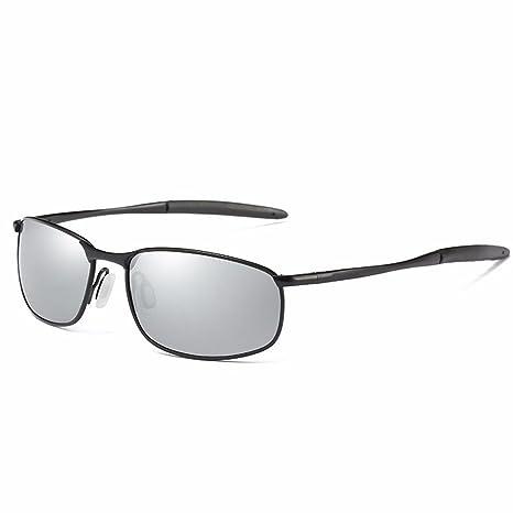 JISHUQICHEFUWU Gafas de Sol/Gafas de Sol polarizadas Hombre/Espejo del Conductor de conducción