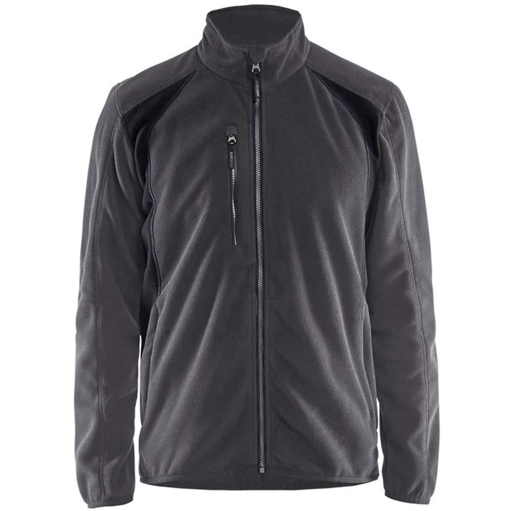 Blaklader Workwear Fleece Jacket Dark Navy//Black XL