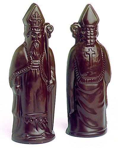 Moule Saint-Nicolas professionnel. 4 empreintes pour 2 personnages. La Brunoise