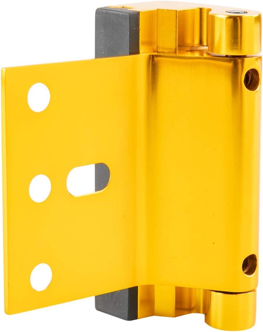2 unidades Basics Cerradura de refuerzo para puerta lat/ón pulido