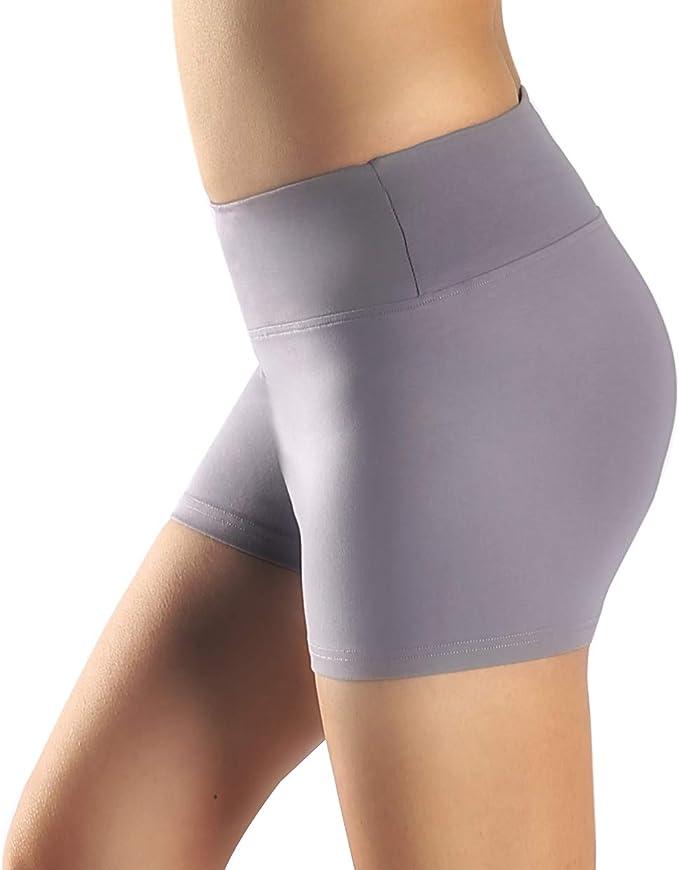 Pantalones cortos de entrenamiento para mujer con bolsillo de ...