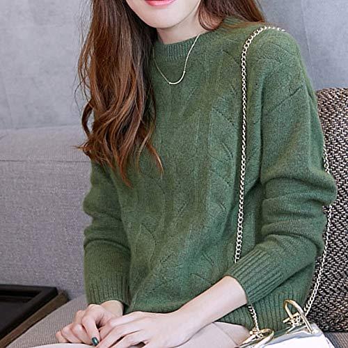 Manica Maglione Verde Dissa Donna Lunga T8fnxRO