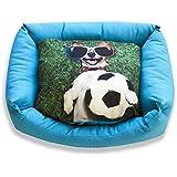 DAGOSTINO HOME - Cama cuna tridimensional para mascotas CHAMPIONS LEAGUE - M - 40X50