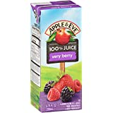 Apple & Eve 100% Juice, Very Berry, 6.76 Fluid-oz, 40 Count