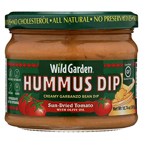 (Wild Garden Hummus, Sun Dried Tomato, 10.74 Ounce (Pack of 6))