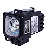 AuraBeam Professional JVC DLAHD250 Projector Replacement Lamp with Housing (Powered by Philips)