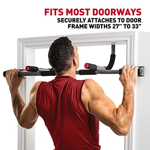 Perfect Fitness Multi-Gym Doorway Pull Up Bar and Portable Gym System