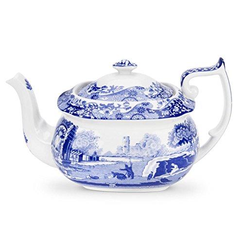 Spode Blue Italian Teapot (Classic Italian China)