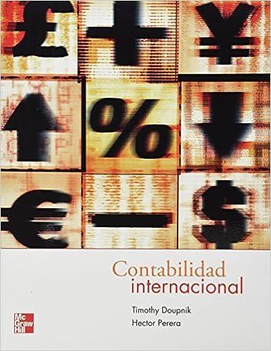 Contabilidad Internacional by TIMOTHY DOUPNIK (2011-05-04)