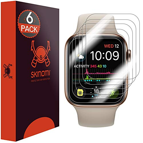 b0af7f82b34ab Skinomi Apple Watch Series 4 Screen Protector (40mm) Slim Design (6-Pack)