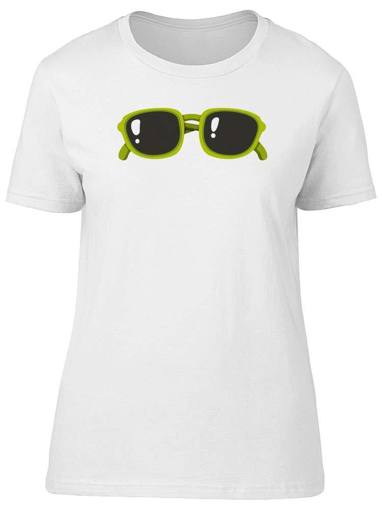 Green Sunglasses Tee Women's -Image by Shutterstock