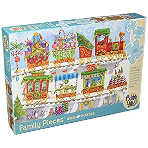 Cobblehill 54608 Multi 350 Christmas Train Puzzle Vari