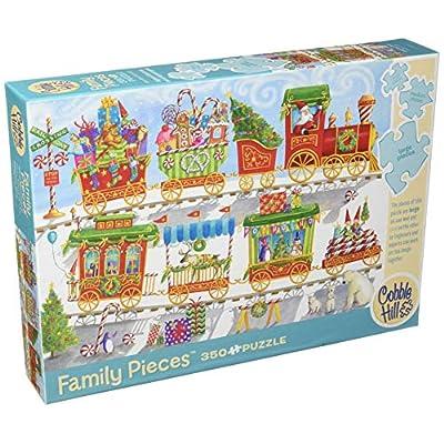 Cobblehill 54608 Multi 350 Christmas Train Puzzle Vari