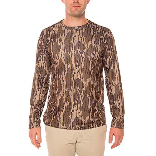 Mossy Oak Original Bottomland Men's UPF 50+ Long Sleeve T-Shirt X-Large