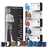 Battistino Italian Premium Coffee for Nespresso OriginalLine Machine - 100 Pod Variety Pack