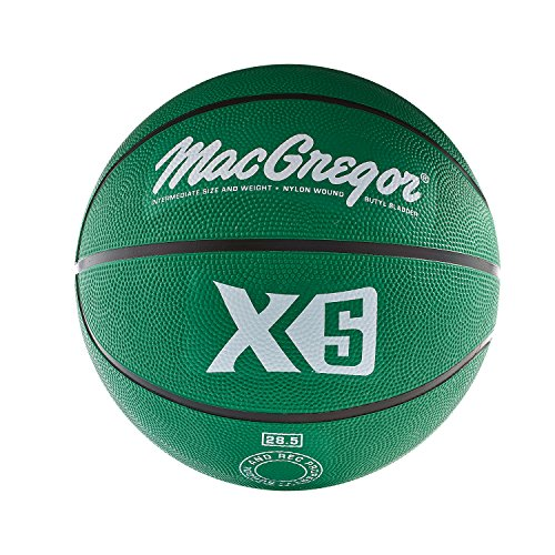 MacGregor Intermediate Size Basketball, Green -  Sport Supply Group, Inc., MCBBX507