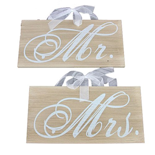 Don Mechanic Ent 13x6 Mrs Wedding Sign Set
