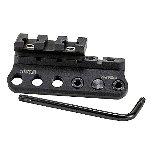 Modular Rail (Bravo Company BCMGUNFIGHTER 1913 Light Mount Modular Key Mod, Black)