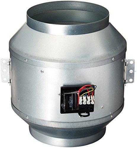 Axial Centrifugal Fans - Fantech FKD 10XL-230 1,266 CFM 230/1/60 Inline Mixed Flow Duct Fan, 10