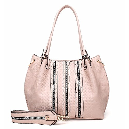 Light Strap K Mia Tote Farrow Charlotte MKF by Pink with Guitar Collection Shoulder Designer S07qwqUWf