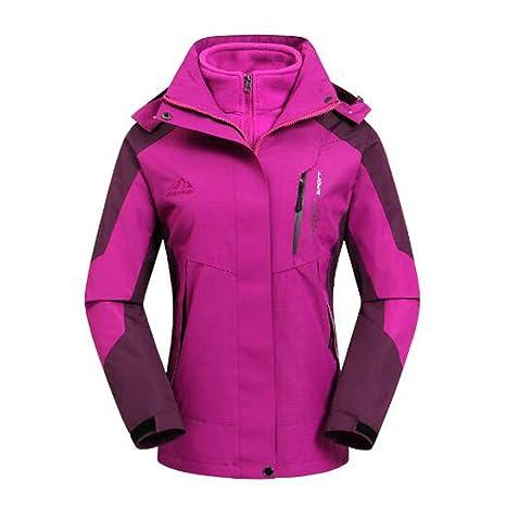 giacca a vento con cappuccio sd trekking donna