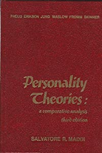 Personality Theories: A Comparative Analysis by Salvatore R. Maddi (1980-12-26)