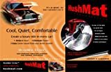 HushMat 50100 Ultra Hood Liner with Dampening Sheet - 6 Piece
