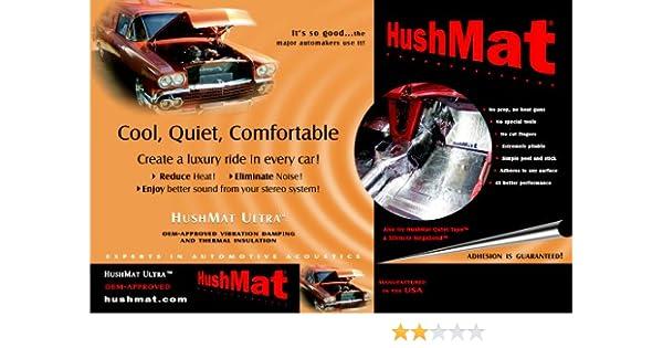 Hood Insulation Pad Set Hushmat 50100