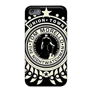Protector Hard Phone Cover For Apple Iphone 6 (VIY1543vQpi) Customized Vivid Rise Against Series