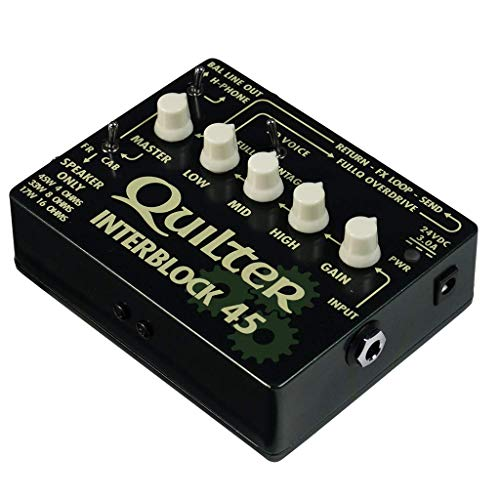 Quilter InterBlock 45 45-Watt Guitar Amplifier/Preamp Pedal by Quilter (Image #2)