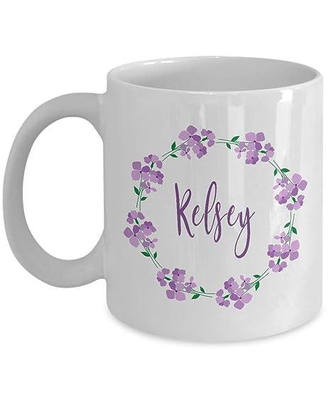 Amazon.com: Kelsey Name Mug - First Given Name Coffee Mug ...