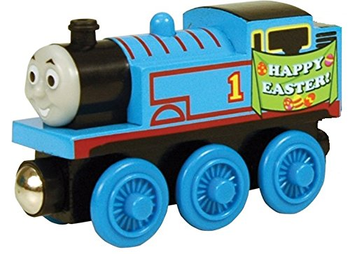 Easter Thomas - Thomas Wooden Railway Tank Engine Train - Brand New - Old Brands Orchard