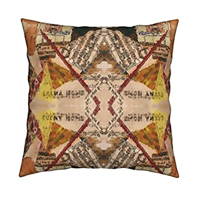 Roostery Collage Throw Pillow Cover My Old Kentucky Home by Anniedeb Cover w Optional Insert by