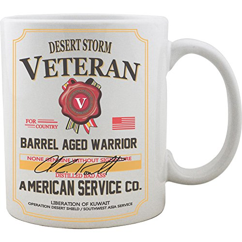 Desert Storm Veteran Whiskey Coffee
