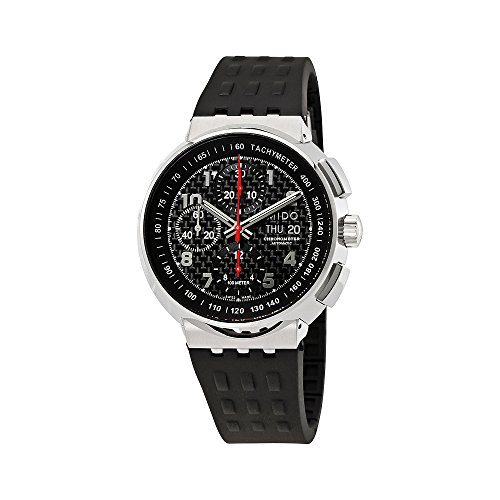 Mido All Dial Carbon Fiber Chronograph Automatic Mens Watch M8360.4.D8.9