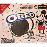 Limited-edition Mickey Mouse Oreos 15.25 OZ. (BIRTHDAY CAKE FLAVOR CREME) (1 PACK)